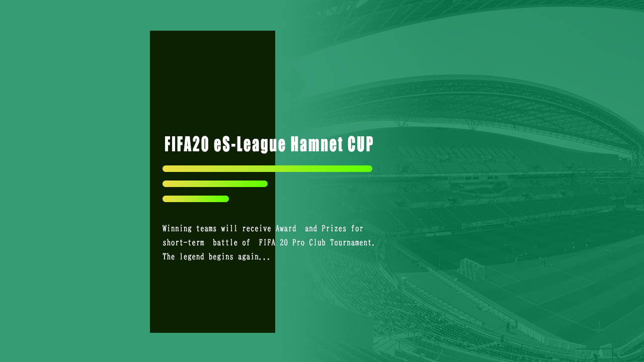 FIFA 11on / FIFA20 eS-League Hamnet CUP